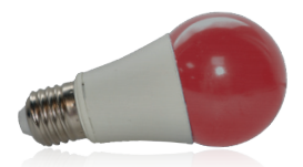 Ampoule LED E27 9W Rouge