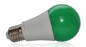 Ampoule LED E27 9W Vert