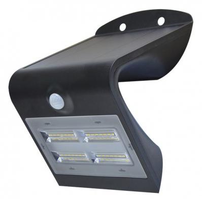 Applique LED Solaire 3.2W Noir