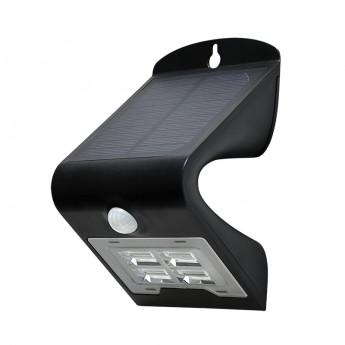 Applique LED Solaire 2W Noir -1
