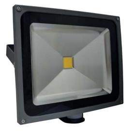 projecteur led 50w avec d tecteur ip65 blanc froid boutique. Black Bedroom Furniture Sets. Home Design Ideas